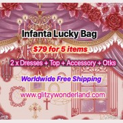 Infanta Lucky Bag 2 Dresses + 1 Top + 1 Accessory + Otks (INL5)